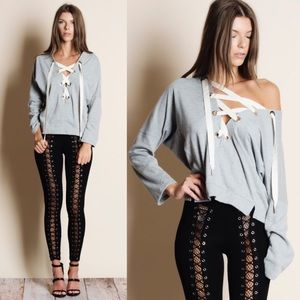 NEW! Lace-up Leggings